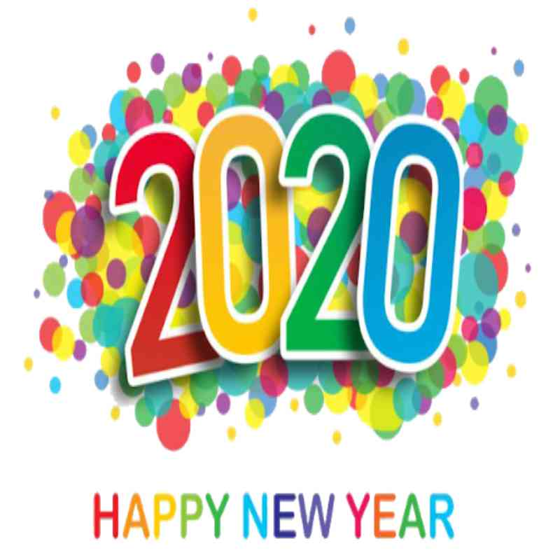 New Year 2020 Wish Card