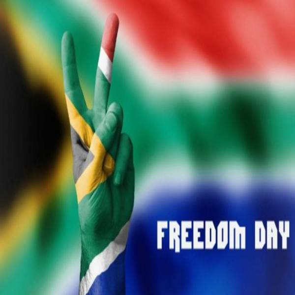 Freedom Day South Africa Wishes Card